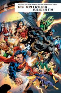 DC univers Rebirth (collectif) – Urban Comics – 35€