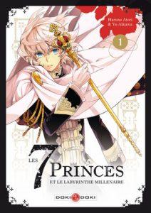 Les 7 princes et le labyrinthe millénaire T1 (Aikawa, Atori)  – Doki Doki – 7,50€
