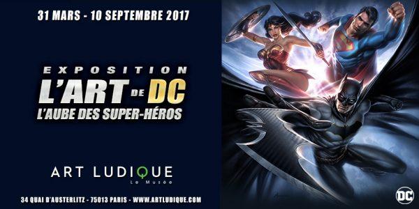 Exposition L'Art de DC – L'Aube des Super-Héros