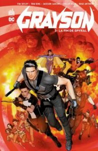 Grayson T3 (Seeley, King, Janin, Di Giandomenico, Antonio) – Urban Comics – 17,50 €
