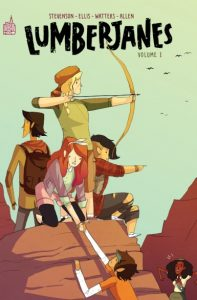 Lumberjanes T1 (Noelle, Grace, Brooke) – Urban Kids – 14 €