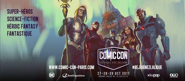 Comic Con Paris 2017 : que nous réserve cette troisième édition ?