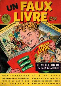 Un faux livre (Un faux graphiste) – Delcourt – 15,95€