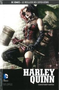 DC Comics – Le meilleur des Super-héros T62 – Harley Quinn – complètement marteau (Conner, Palmiotti, Hardin) – Eaglemoss – 13,99€