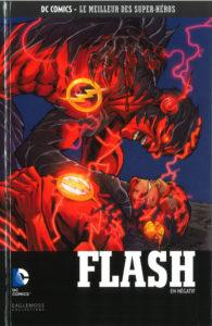 DC Comics – Le meilleur des Super-héros T65 – Flash – en négatif (Buccellato, Manapul) – Eaglemoss – 13,99€