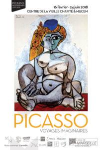 Picasso «voyages imaginaires» – Centre de la Vieille Charité (Marseille) – Exposition du 16 Février au 24 Juin 2018