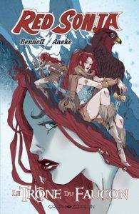 Red Sonja- Le trône du faucon (Bennett, Aneke, Galindo) – Graph Zeppelin – 16€
