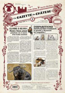 La gazette du château – (Dorison, Delep) – Casterman – 3,50€