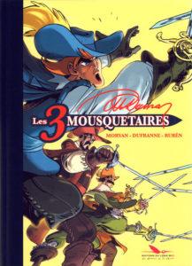 Les 3 Mousquetaires (Dufranne, Morvan, Rubén) – Editions du Long Bec – 32,00€