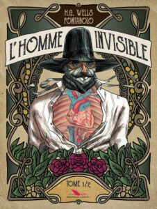 L'homme invisible T1( Wells, Pontarolo)- Editions du Long Bec -17,00€