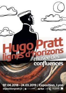 Hugo Pratt «lignes d'horizons» – Musée des Confluences (Lyon) – Exposition du 07 Avril au 24 Mars 2019