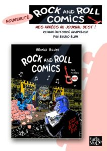 « Rock and Roll Comics » de Bruno Blum chez Tartamudo en financement participatif