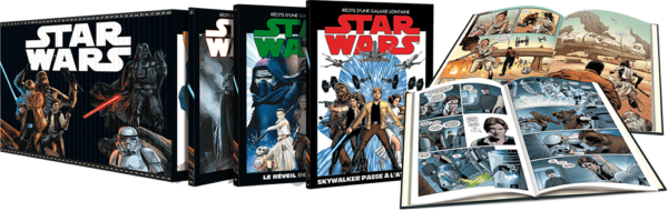 Star Wars, la série mythique en BD, arrive chez Altaya