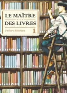 Le maître des livres T1 (Shinohara) – Komikku Editions  – 8,50 €