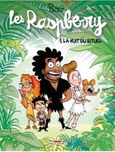 Les Raspberry T1 (Pacco) – Delcourt – 12,50€