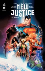New Justice T1 (Snyder, Tynion IV, Cheung, Jimenez) – Urban Comics – 19€