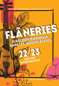 Flâneries d'Art Contemporain 2019 –  Samedi 22 & Dimanche 23 Juin 2019 – Aix-en-Provence