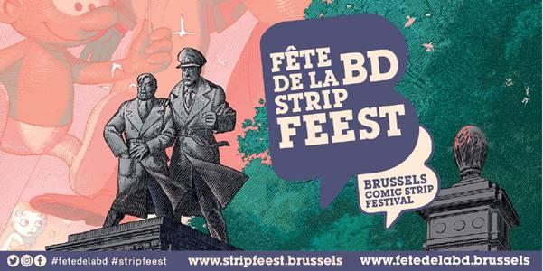 10ème Fête de la BD de Bruxelles du 13 au 15 septembre 2019 – Prix Atomium de la Bande dessinée