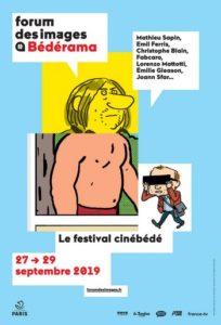 Fesival Bédérama – 1er Festival Bédérama, Forum des Images, du 27 au 29 septembre 2019 – Paris