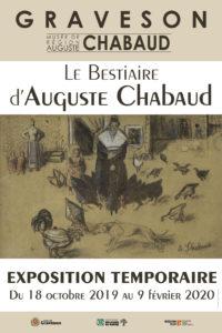 Le Bestiaire d'Auguste Chabaud – Musée de Région Auguste Chabaud Graveson – Du 18 octobre 2019 au 9 février 2020