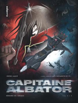 Capitaine Albator, Mémoires de l'Arcadia tome 2 (Alquié) – Kana – 11,99€