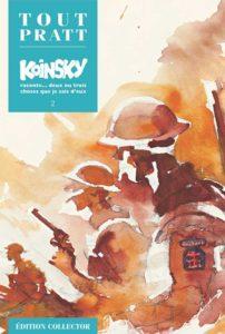 Koinsky raconte… Deux ou trois choses que je sais d'eux 2 (Hugo Pratt) – Editions Altaya – 12,99€