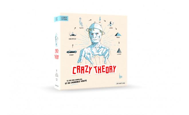 Crazy Theory : un jeu de Christian Rubiella et Fabrice Andrivon, inspiré de la BD Zaï Zaï Zaï Zaï de Fabcaro
