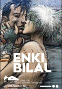 Exposition Enki Bilal – FHEL à Landerneau – Du 21 Juin au 1er Novembre 2020