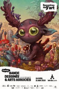 Rencontres du 9ème Art, bande dessinée et arts associés, 17ème édition – Aix-en-Provence – du 4 avril au 31 mai 2020
