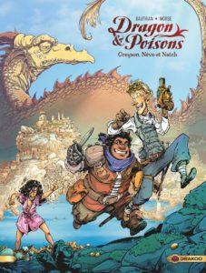 Dragon & Poisons T1 (Bauthian, Morse, Kaori) – Drakoo – 14,50€