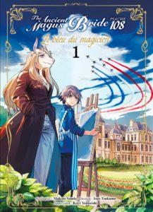The Ancient Magus Bride – Psaume 108, le bleu du magicien (Sanda, Tsukomo) – Komikku Éditions – 7,99€