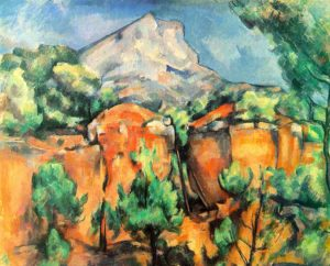 «Paul Cézanne»- Carrières de Lumières, Les Baux-de-Provence – En Mars 2021