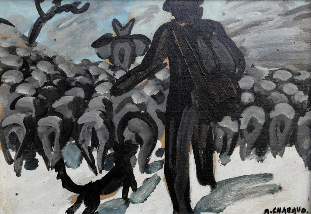 «Chabaud-Delavouët, sur les pas du berger» – Musée de Région Auguste Chabaud Graveson – Du 22 d'Octobre 2020 au 7 février 2021