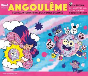 Le Festival d'Angoulême 2021 dévoile ses sélections officielles