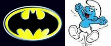 Les Schtroumpfs contre Batman au cinéma !
