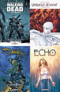 Objectif cinéma/télé pour les comics Delcourt